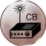 Emblem CB-Funk, 50mm Durchmesser - Vorschau 1