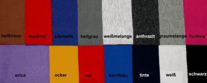 Gym-Dress mit kurzem Arm Baumwolle Hochrot, Gr. XL - Vorschau 3