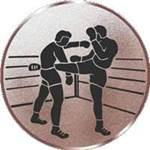 Emblem Kickboxen, 50mm Durchmesser - Vorschau 1