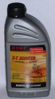 Teilsynthetisches 2 Takt Rolleröl, Low Smoke, 1 Liter - Vorschau