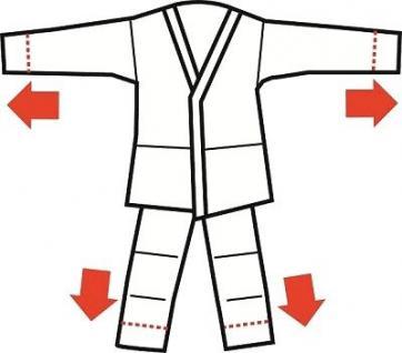 Adidas Karateanzug Junior Doppelgröße (1 Anzug - 2 Größen) - Vorschau 4