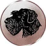 Emblem Riesenschnauzer, 50mm Durchmesser - Vorschau 1