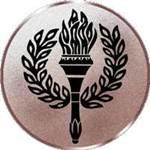 Emblem Sieges-Fackel, 50mm Durchmesser - Vorschau 1