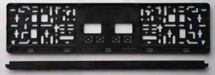 KFZ Kennzeichenhalter / Kennzeichenhalterung / Kennzeichenverstärker - Vorschau