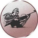 Emblem Biathlon, 50mm Durchmesser - Vorschau 1