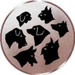 Emblem Gebrauchshunde, 50mm Durchmesser - Vorschau 1