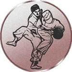 Emblem Judo, 50mm Durchmesser - Vorschau 1