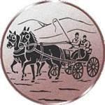 Emblem Gespannfahren, 50mm Durchmesser - Vorschau 1