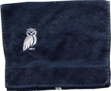 Handtuch aus Frottee mit Bestickung Eule