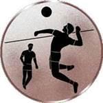 Emblem Faustball, 50mm Durchmesser - Vorschau 1