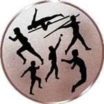 Emblem Leichtathletik, 50mm Durchmesser - Vorschau 1