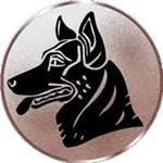 Emblem Schäferhund, 50mm Durchmesser - Vorschau 1