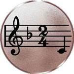 Emblem Musik, 50mm Durchmesser