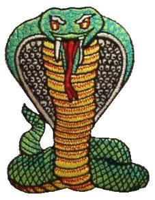 Aufnäher Cobra