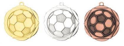 Medaille Fußball silber