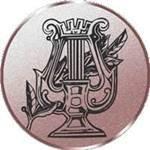 Emblem Lyra, 50mm Durchmesser - Vorschau 1