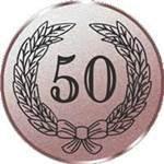 Emblem Jubiläum 50, 50mm Durchmesser
