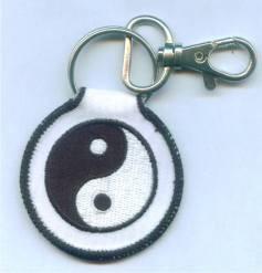 Schlüsselanhänger Ying Yang - Vorschau