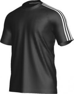 adidas T-Shirt schwarz