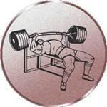 Emblem Bankdrücken, 50mm Durchmesser - Vorschau 1