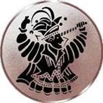 Emblem Karneval, 50mm Durchmesser - Vorschau 1