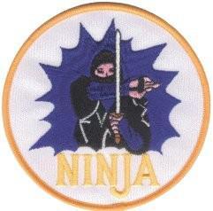 Aufnäher Ninja - Vorschau 2