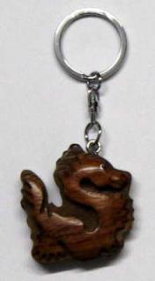 Schlüsselanhänger Drache - Vorschau