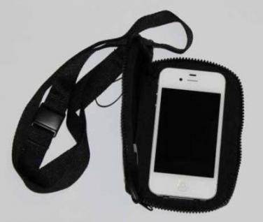 Handytasche oder MP3-Player Tasche aus Neopren, Motiv Kung Fu - Vorschau 2