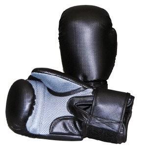 Boxhandschuhe Carbonoptic mesh schwarz