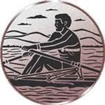 Emblem Rudern, 50mm Durchmesser - Vorschau 1