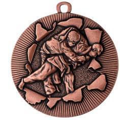 Medaille Judo Ø50mm bronze