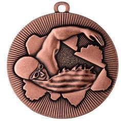 Medaille Schwimmen Ø50mm bronze