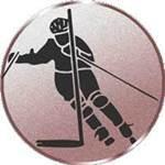 Emblem Inline SkatingSlalom, 50mm Durchmesser - Vorschau 1