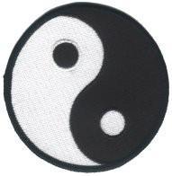 Aufnäher Ying Yang