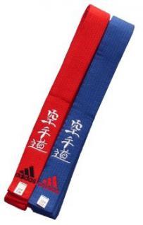 Budogürtel adidas Elite bestickt mit Karate Do, 320 cm