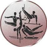 Emblem Geräteturnen, 50mm Durchmesser - Vorschau 1