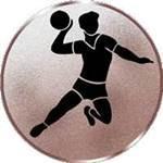 Emblem Handball-Herren, 50mm Durchmesser - Vorschau 1