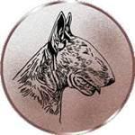 Emblem Bullterrier, 50mm Durchmesser