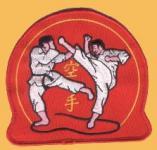 Aufnäher Karate