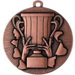 Medaille neutral Ø50mm bronze