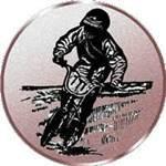 Emblem Mountainbike, 50mm Durchmesser