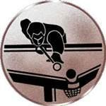 Emblem Pool-Billard, 50mm Durchmesser