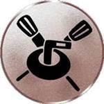 Emblem Curling, 50mm Durchmesser