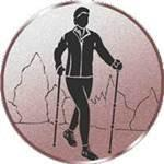 Emblem Nordic Walking, 50mm Durchmesser