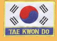 Aufnäher Taekwondo