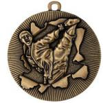 Medaille Karate Ø50mm gold