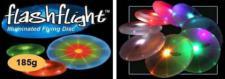 Wurfscheibe Frisbee LED grün