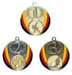 Medaille Deutschland gold 5 cm