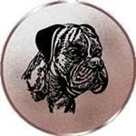 Emblem Boxer, 50mm Durchmesser