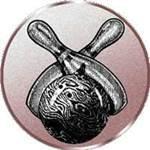 Emblem Bowling, 50mm Durchmesser